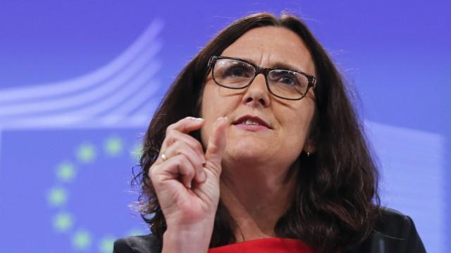 EU Trade Commissioner Malmstrom on TTIP