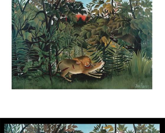 Der Schatten der Avantgarde - Rousseau und die vergessenen Meister (2. Oktober 2015 - 10. Januar 2016) -- Museum Folkwang (Pressematerial zur Ausstellung)