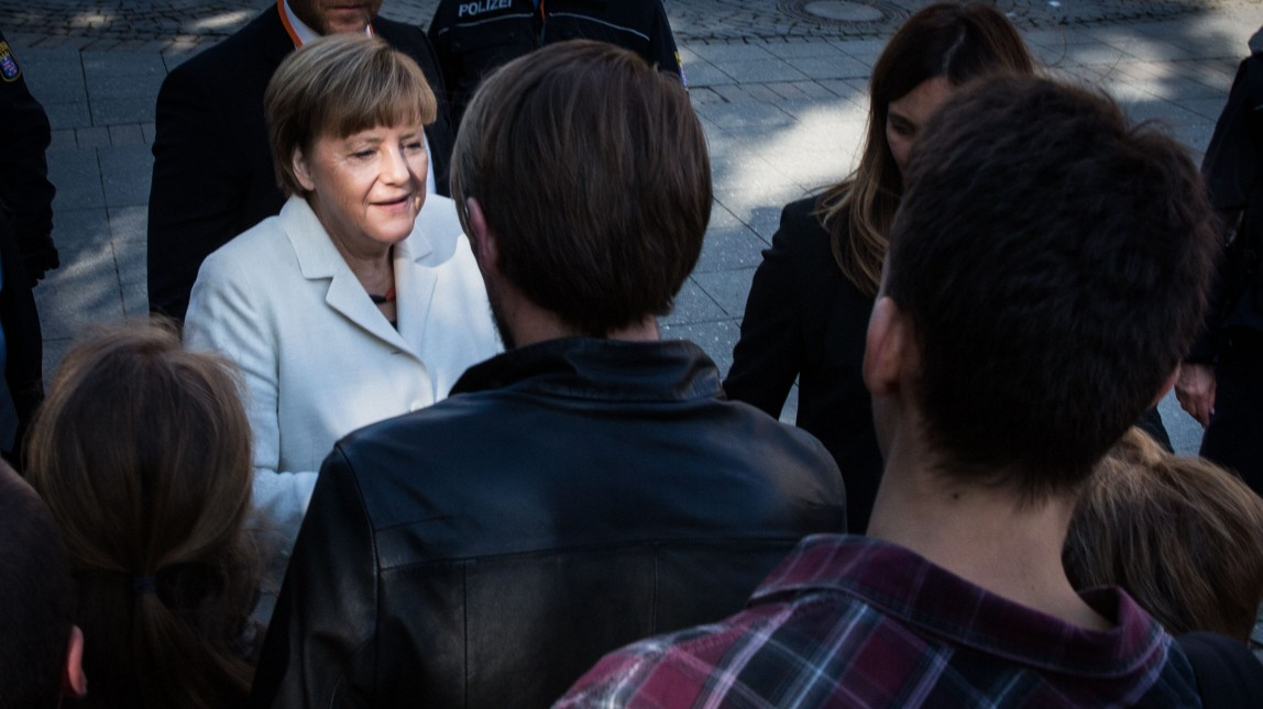 Angst vor Merkels Courage