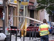 """Nagelbombenanschlag 2004 in Köln: Bei dem Anschlag der Terrorgruppe """"Nationalsozialistischer Untergrund"""" (NSU) wurden 22 Menschen verletzt."""