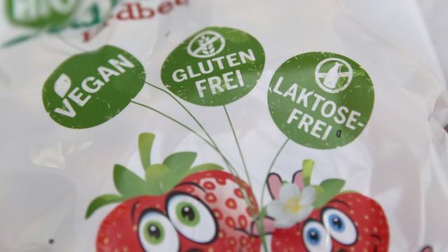Glutenfreie Waren im Einzelhandel