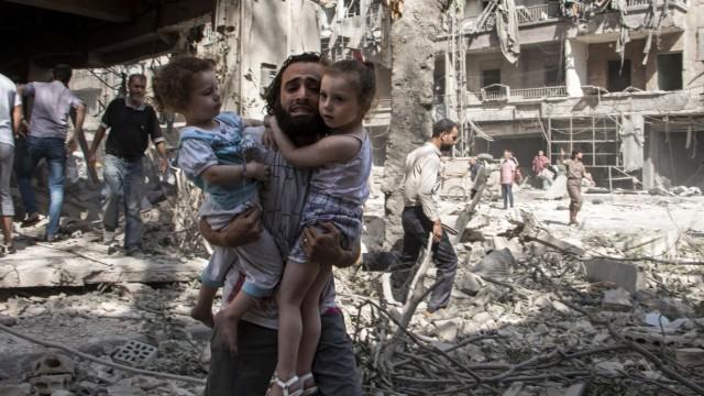 Flüchtlinge Umfrage unter syrischen Flüchtlingen