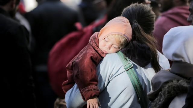 Flüchtlinge am Lageso in Berlin
