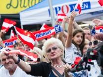 AUT, FPÖ, Wahlkampfauftakt zur Wien Wahl 2015