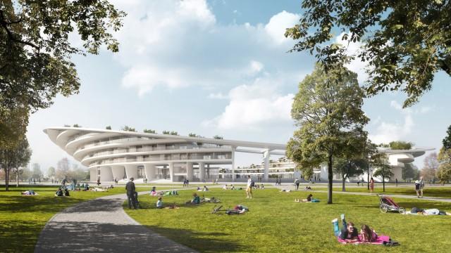 Masterplan für Sportstätten und Olympiabebauung