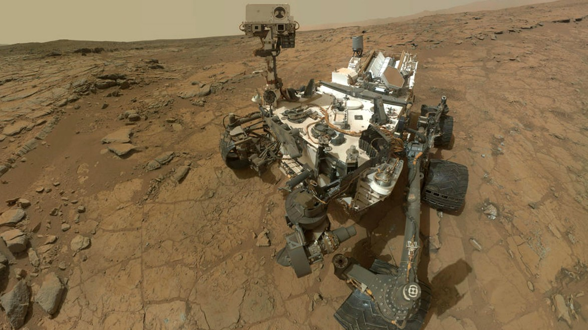Forscher entdecken Spuren von Seen auf dem Mars
