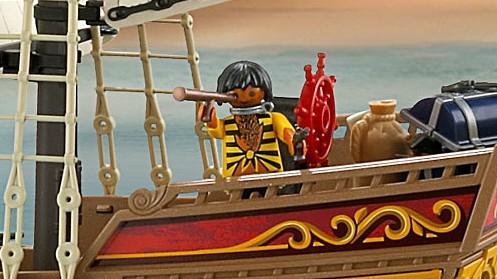 Playmobil Ärger um Piratenschiff