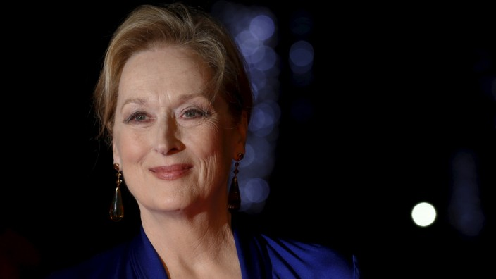 Actress Meryl Streep arrives for the Gala screening of the film 'Suffragette' for the opening night of the British Film Institute (BFI) Film Festival at Leicester Square in London