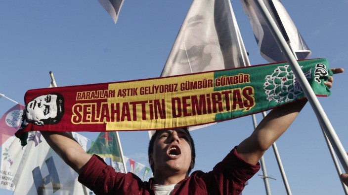 Elections rally of HDP in Istanbul