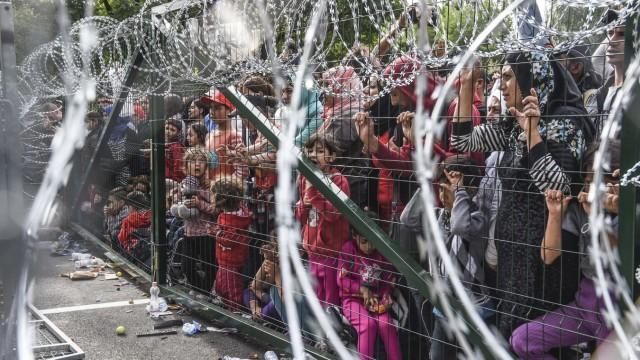 Flüchtlinge Grenzen in Europa