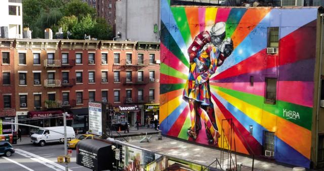 Graffiti XXL - Bilder für Reisebuch-Rezension
