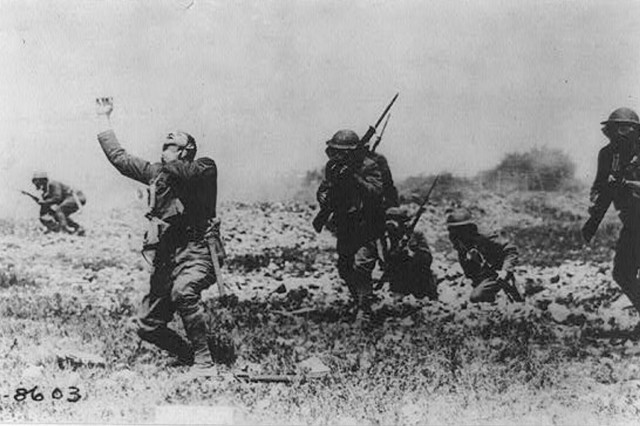 U.S. soldiers are seen in an undated photo