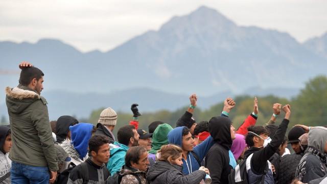 Migrants in Austria