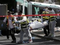 Bus, Jerusalem, Angriff
