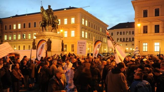 Pegida Pegida in München