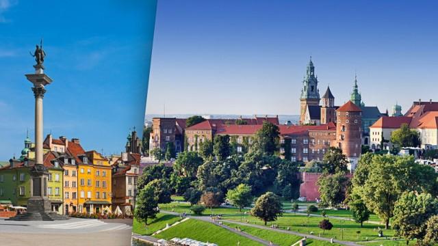 Städteschwestern Krakau und Warschau