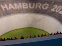 Präsentation des Konzepts für Olympia 2024