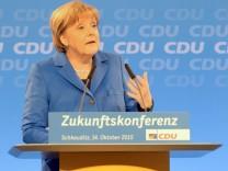 Merkel auf Zukunftskonferenz der CDU-Landesverbände
