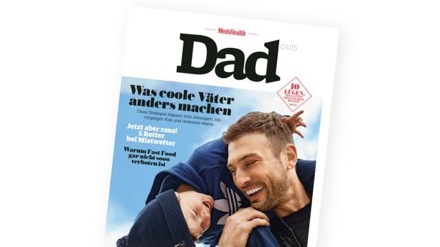 "Men's Health Neue Zeitschrift ""Men's Health Dad"""