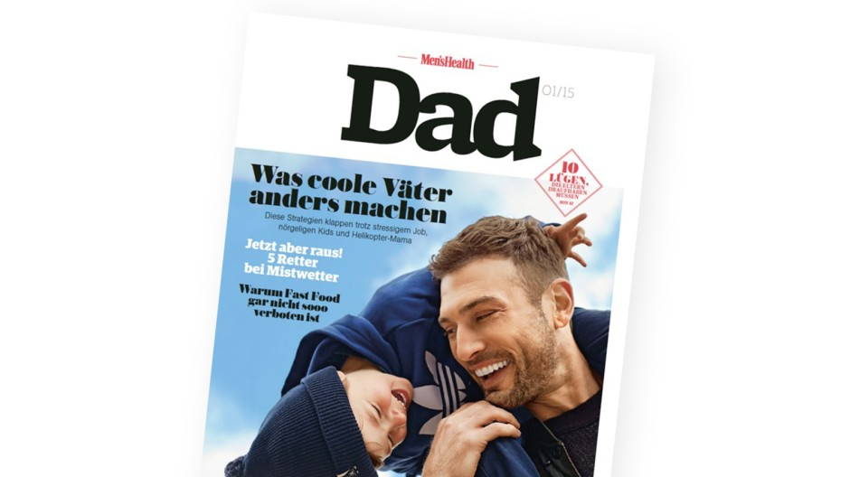 "Men's Health Neue Zeitschrift ""Men's Health Dad"""