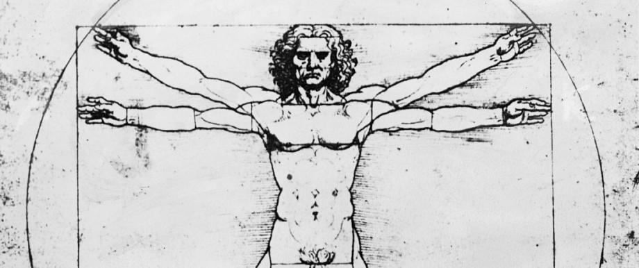 Zeichnung von Leonardo da Vinci