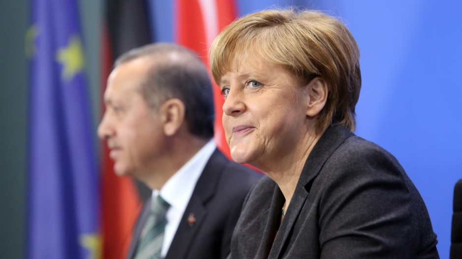 Turkish Prime Minister Erdogan Visits Germany