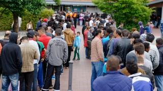 Erstaufnahmelager für Flüchtlinge in Friedland