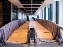 Baustand am Hauptstadtflughafen BER