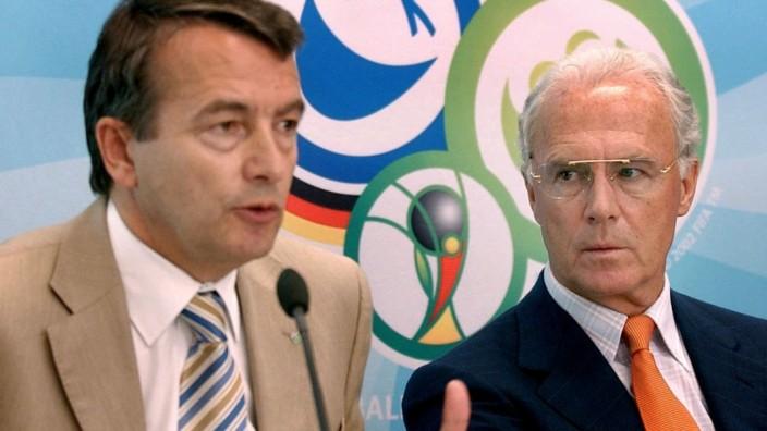 Wolfgang Niersbach und Franz Beckenbauer