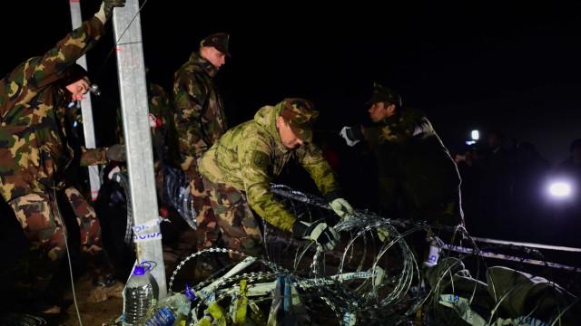 Ungarn schließt Grenze zu Kroatien