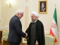 Außenminister Steinmeier im Iran