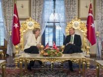German Chancellor Angela Merkel Visits Turkey