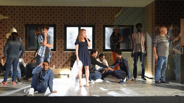 Feuilleton Theater mit Flüchtlingen