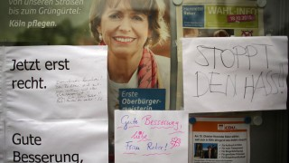 Nach Attentat auf OB-Kandidatin