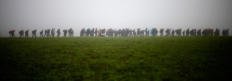 Flüchtlinge Philosoph Slavoj Žižek über Asylpolitik