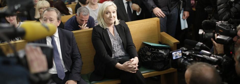 Süddeutsche Zeitung Politik Marine Le Pen