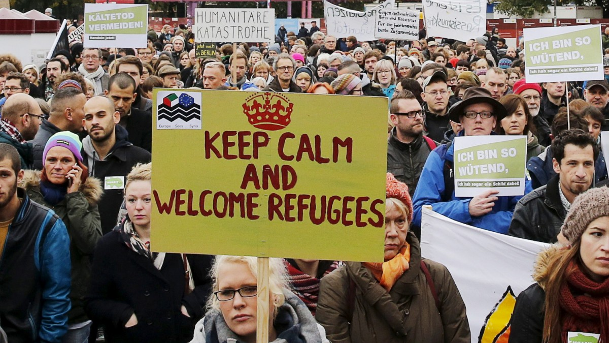 Flüchtlinge - Wie vor dem Lageso die Stimmung kippt