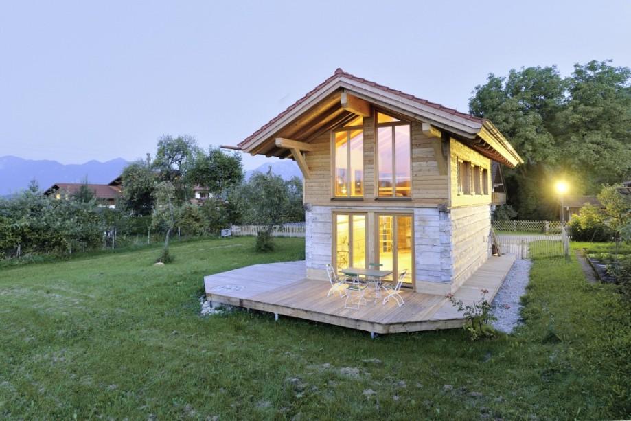 Wohnkonzept Mini-Haus - Mini-Haus aus Holz: Wer auf - Wohnen - Stil ...