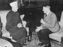 Amin al Husseini und Adolf Hitler; Mohammed Amin al-Husseini im Gespräch mit Adolf Hitler