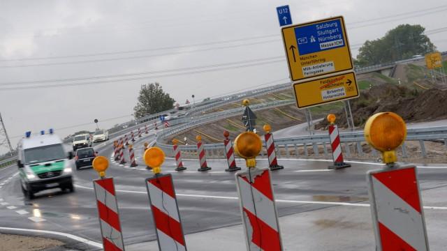 Aschheim Teure Autobahnausfahrt