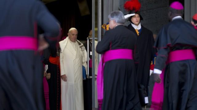Katholische Kirche Familiensynode in Rom