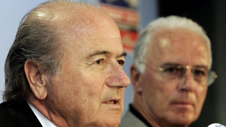 Fußball-WM 2006 Streit mit Blatter