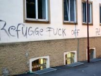 Anschlag auf Notunterkunft für Flüchtlinge