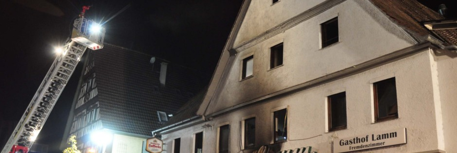 Brand in Remseck