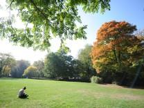 Herbst im Englischen Garten in München, 2015