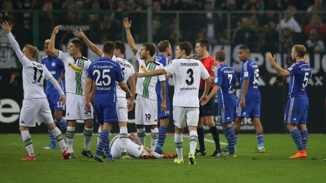 Fußball,Fussball,                       Fußball,Fussball,                       25.10.2015 1. Bundesliga, Saison 2015/2016 VFL Borussia Mönchengladbach Gladbach - FC Schalke 04