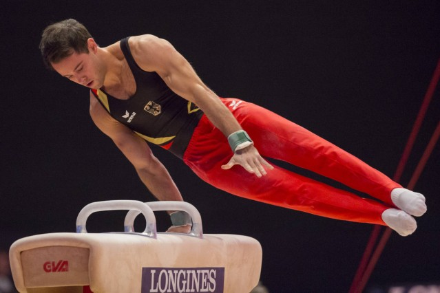 25 10 2015 Glasgow Scotland FIG Artistic Gymnastics World Championships Day Three Sebastian KRI