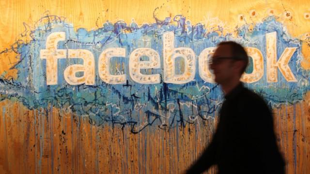 Facebook Logo bei Facebook International