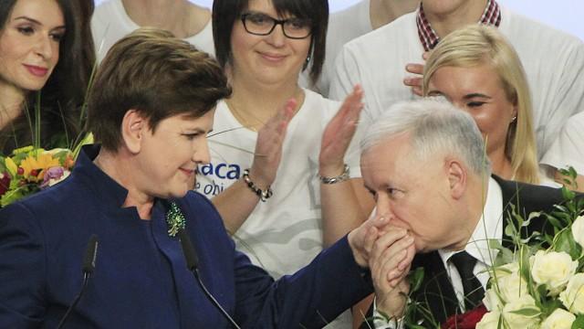 Jaroslaw Kaczynski,Beata Szydlo