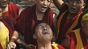 Demonstrierende Mönche